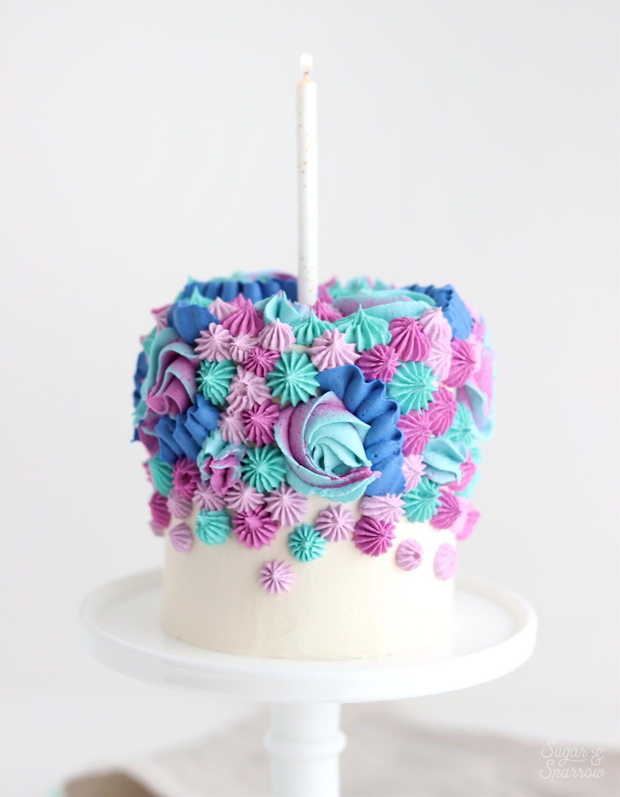 1st Birthday Smash Cake Recipe Decorating Ideas Sugar Sparrow Recipe Smash Cake Recipes Cake First Birthday Cakes