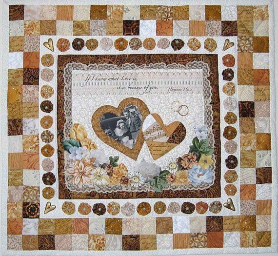 Wall Hanging Quilts wedding remembrance wall hanging quilt pattern to celebrate