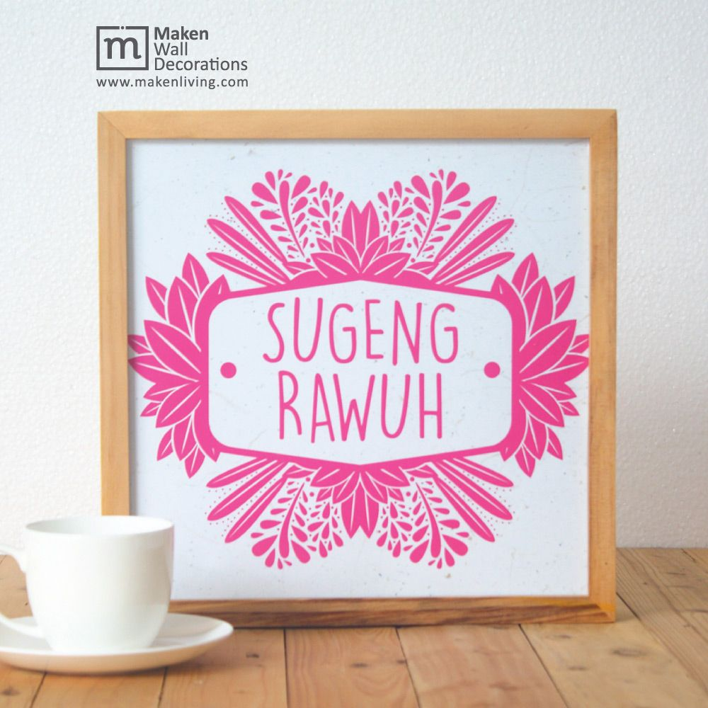 Bahasa Jawa Serang Selamat Datang
