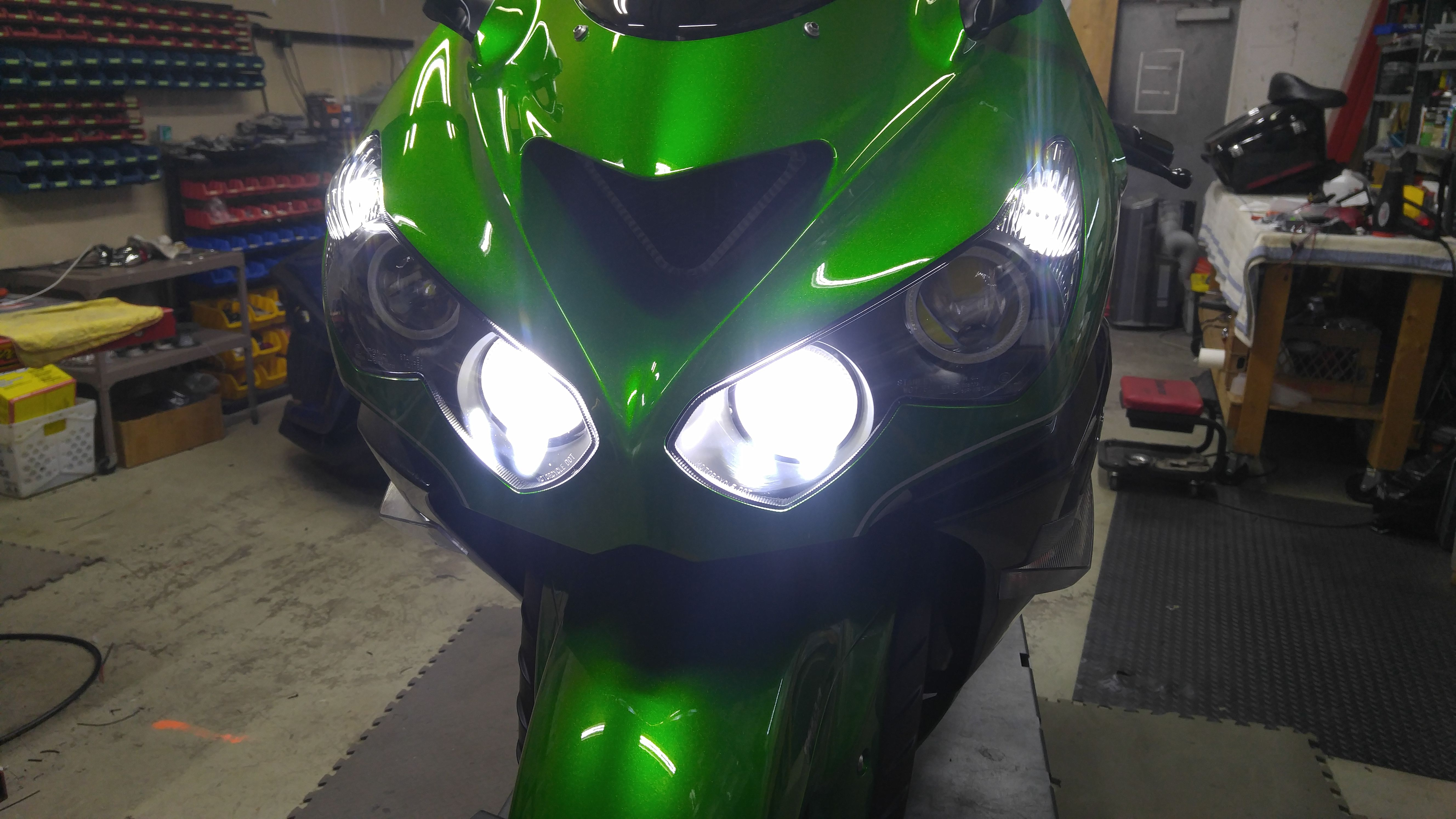 Pin by Chrome Glow_Sportbike Lites on Motorcycle Lighting