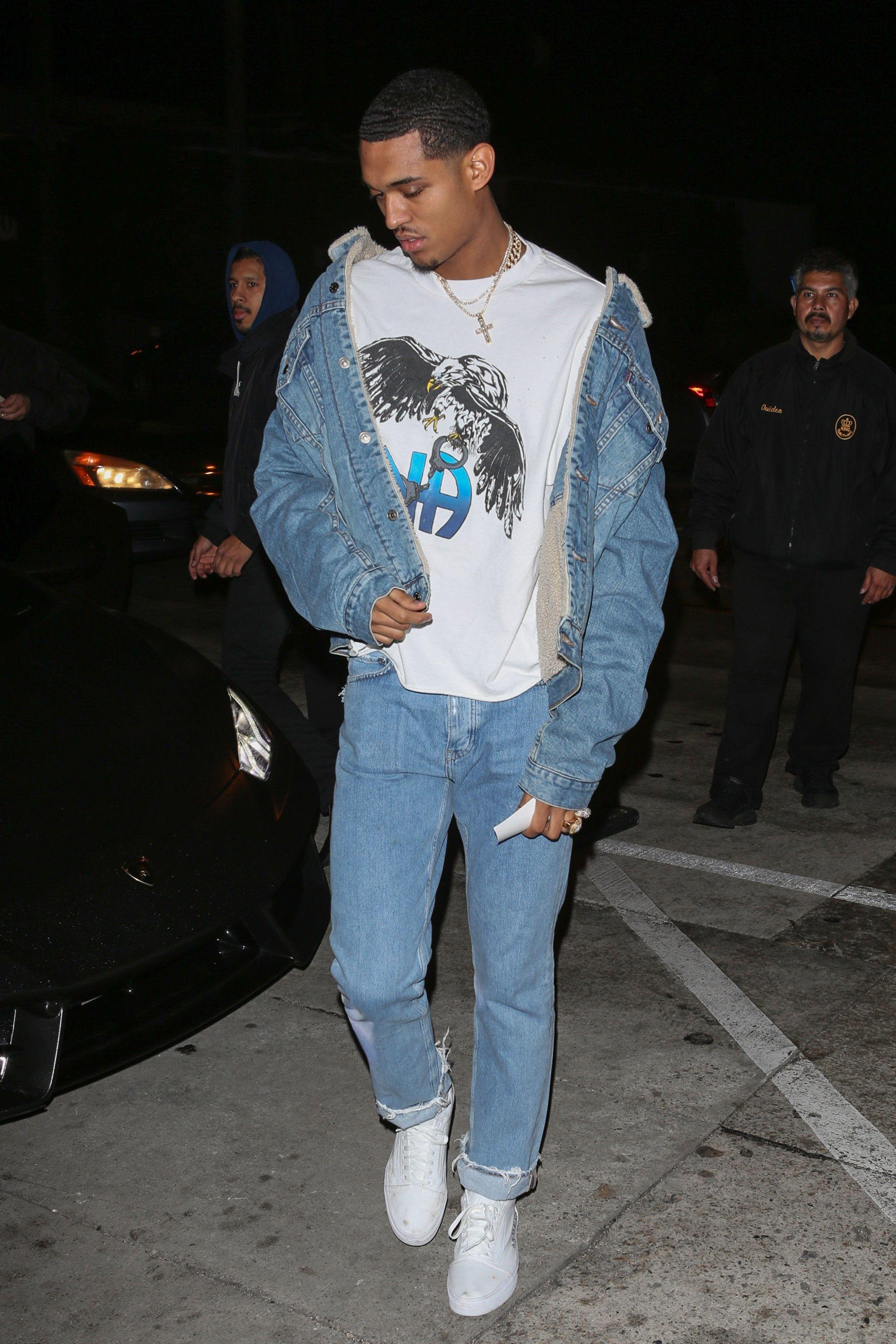 tout neuf 7f851 34a6c Jordan Clarkson wearing Enfants Riches Déprimés N.A. T-Shirt ...