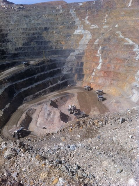 Cortez Hills Mine Pit Nevada Nevada Travel Elko Nevada Nevada