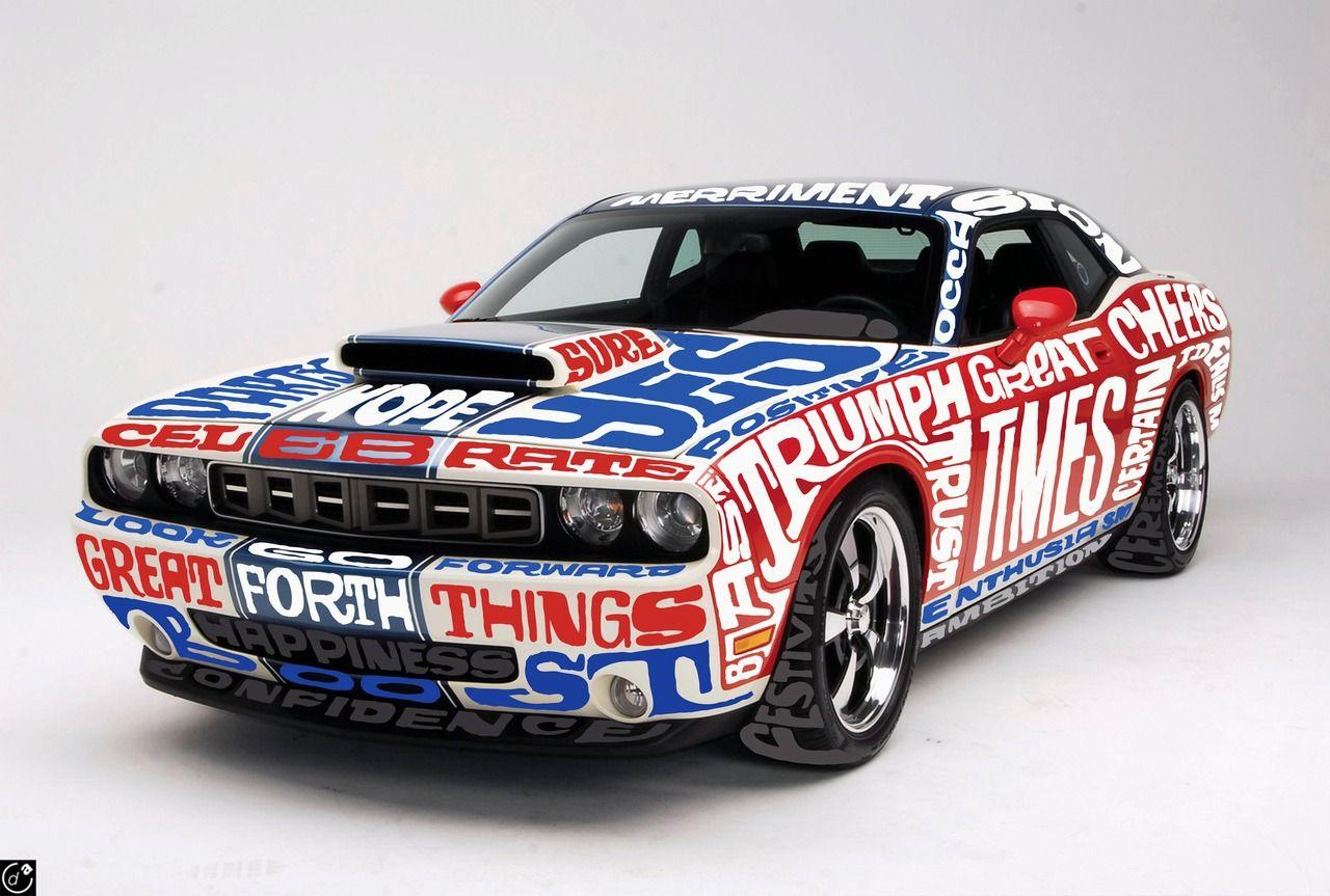 decorated Vibe Car by Oscar Wilson