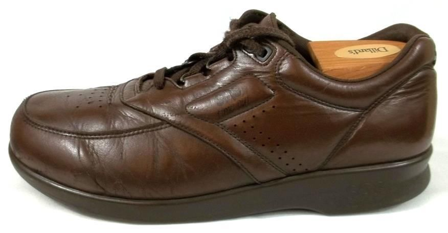 dc7a35b3b884 SAS Shoes Mens Size 9.5 N Brown Leather Lace Up Athletic Walking Oxfords   SAS  Oxfords