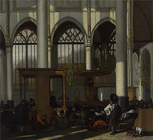 Best Interior Paint Uk: Oil Painting 'Emanuel De Witte