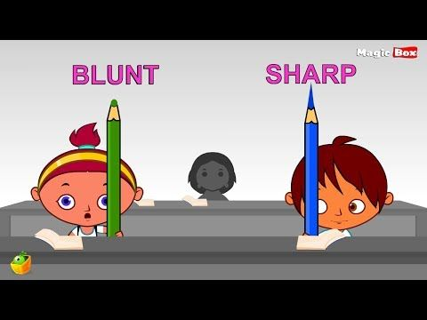 Learn 100 Opposite Words (Preschool) - PART 6 - Cartoon And ...