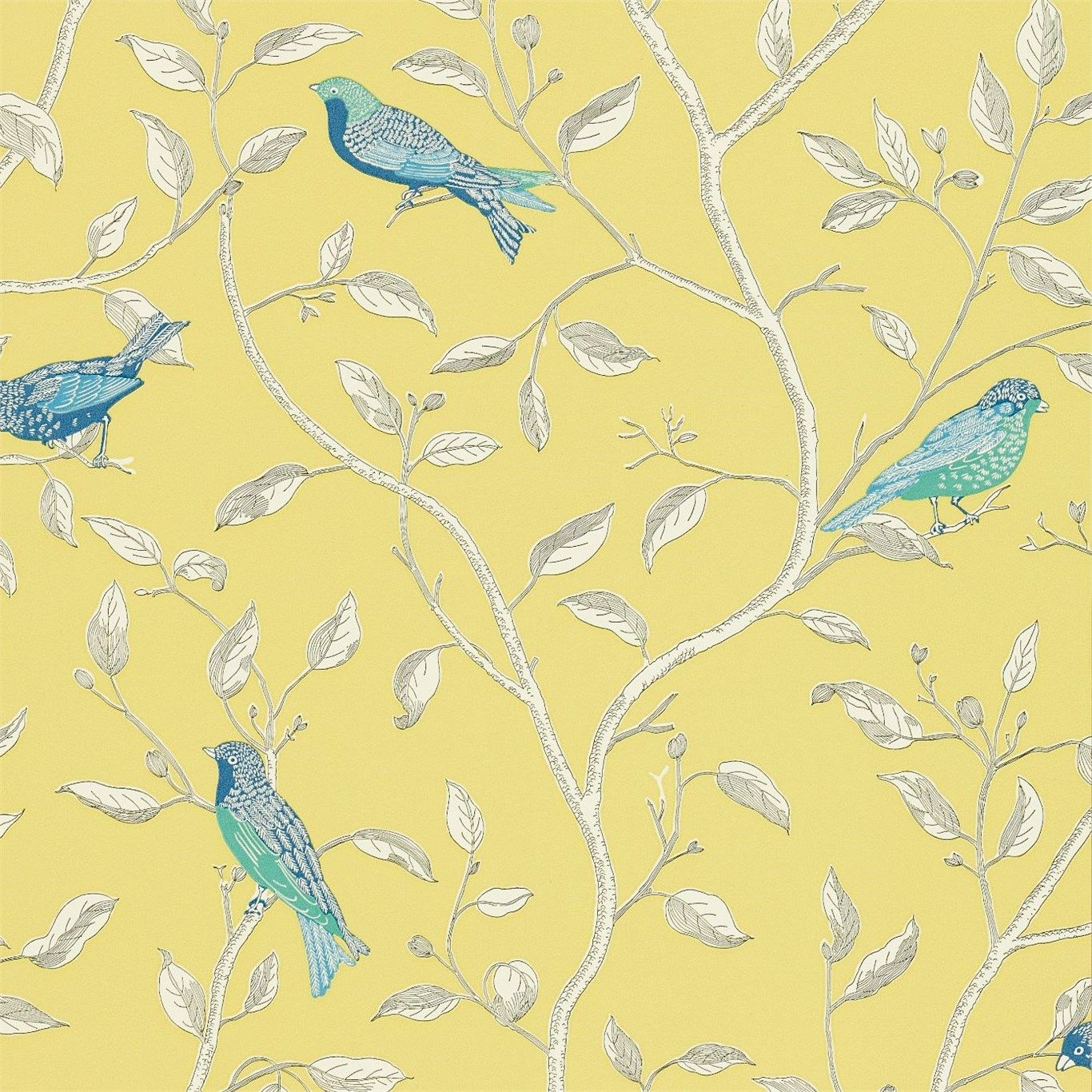 Sanderson - Traditional to contemporary, high quality designer fabrics and wallpapers   Products   British/UK Fabric and Wallpapers   Finches (DOPWFI101)   Options 10 Wallpapers