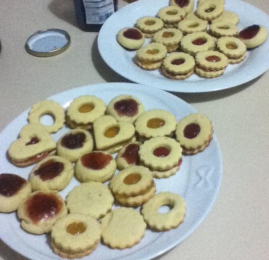 Biscottini alla marmellata #ricette