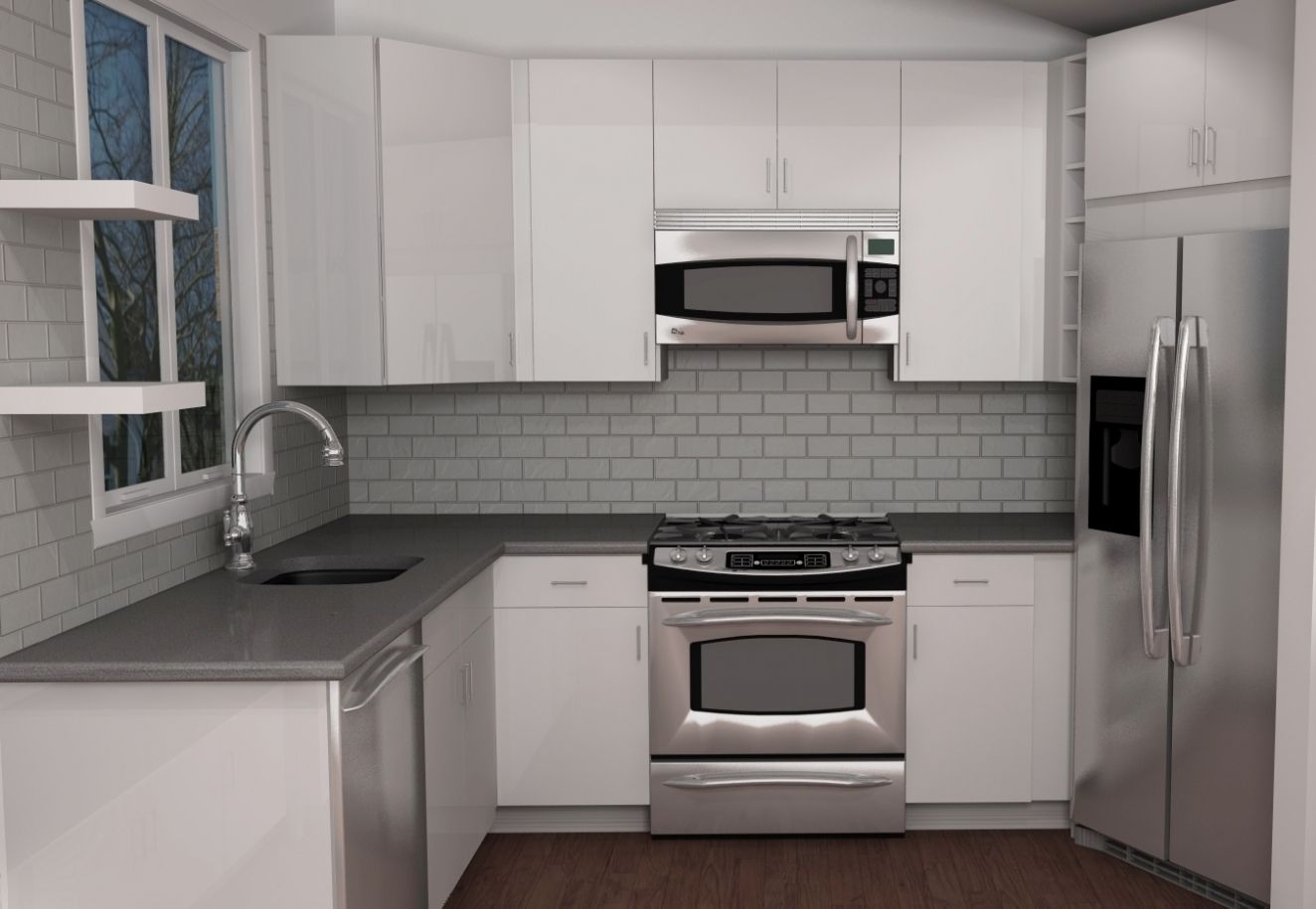 Beau How To Get More Counter Space In A Small Kitchen   Interior Paint Color  Schemes Check