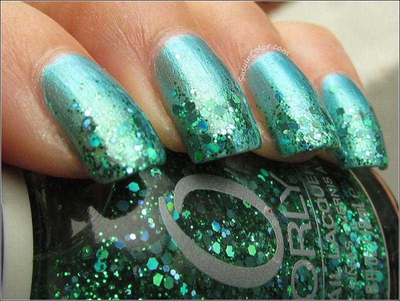 Sally Hansen Lagoon with Orly Mermaid Tale | Nails, Nails, Nails ...