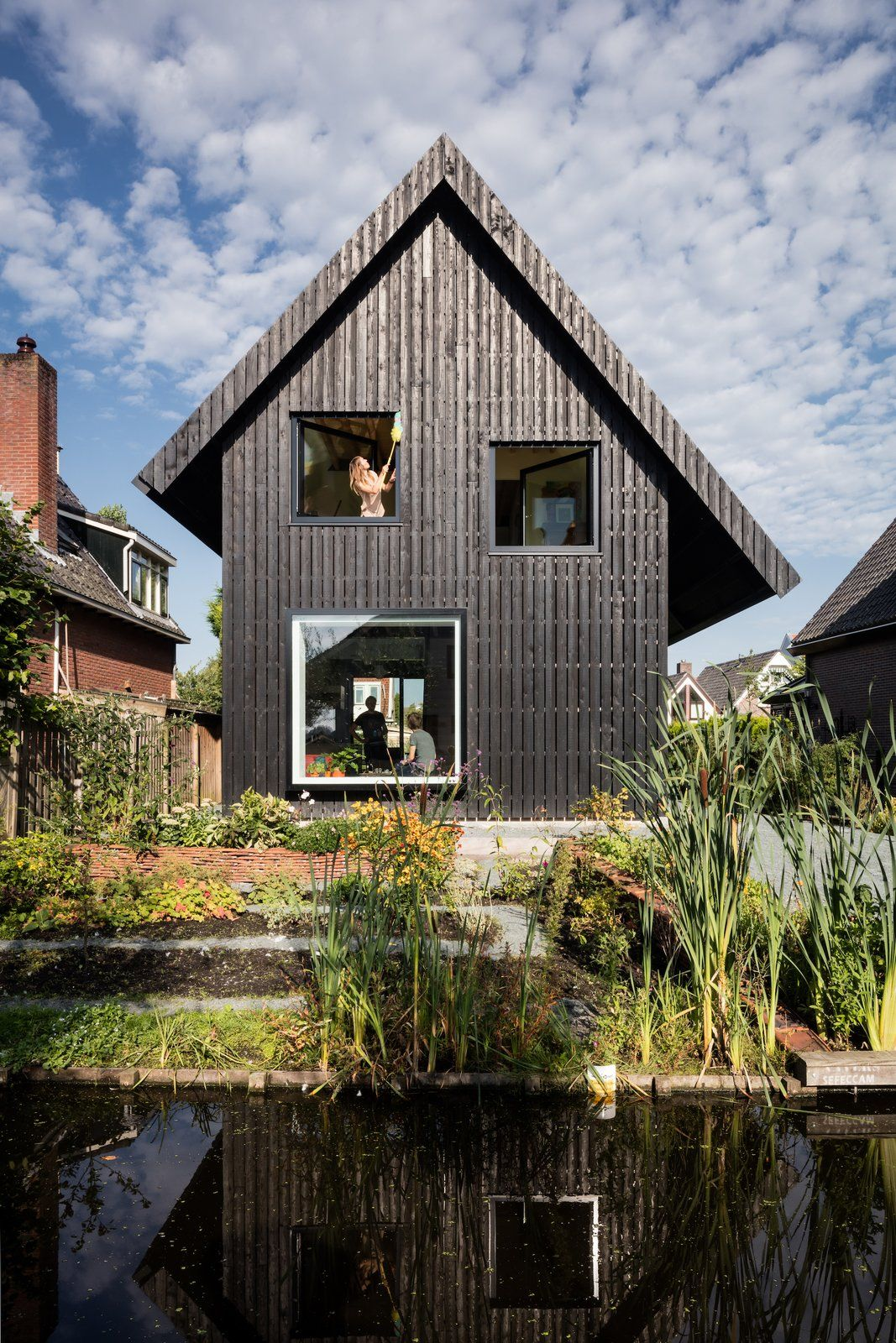House Mm By Chris Collaris Architects Amsterdam Houses Timber House Wooden Cottage