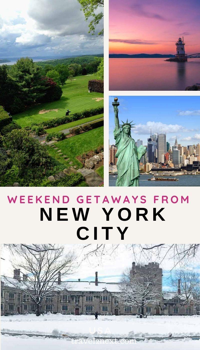 5 Weekend Getaways From Nyc Weekend Getaways From Nyc Day Trip To Nyc Weekend Getaways