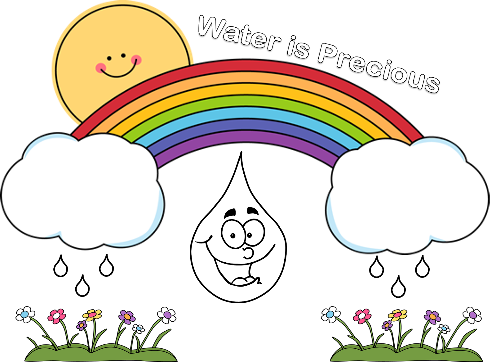 worksheet Save Water Worksheets For Kindergarten poster for water conservation2 clipart club free cliparts club