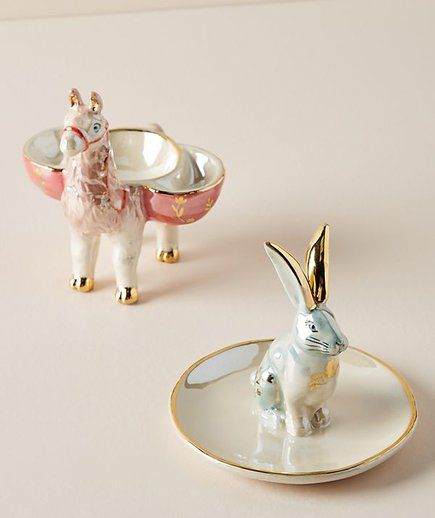 Anthropologie Christmas Gifts, Trinket Dishes | Go ahead, treat yourself to a little something, too. #christmasgiftsforboyfriend