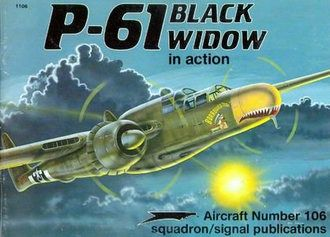 P-61 Black Widow in Action (Squadron Signal 1106)