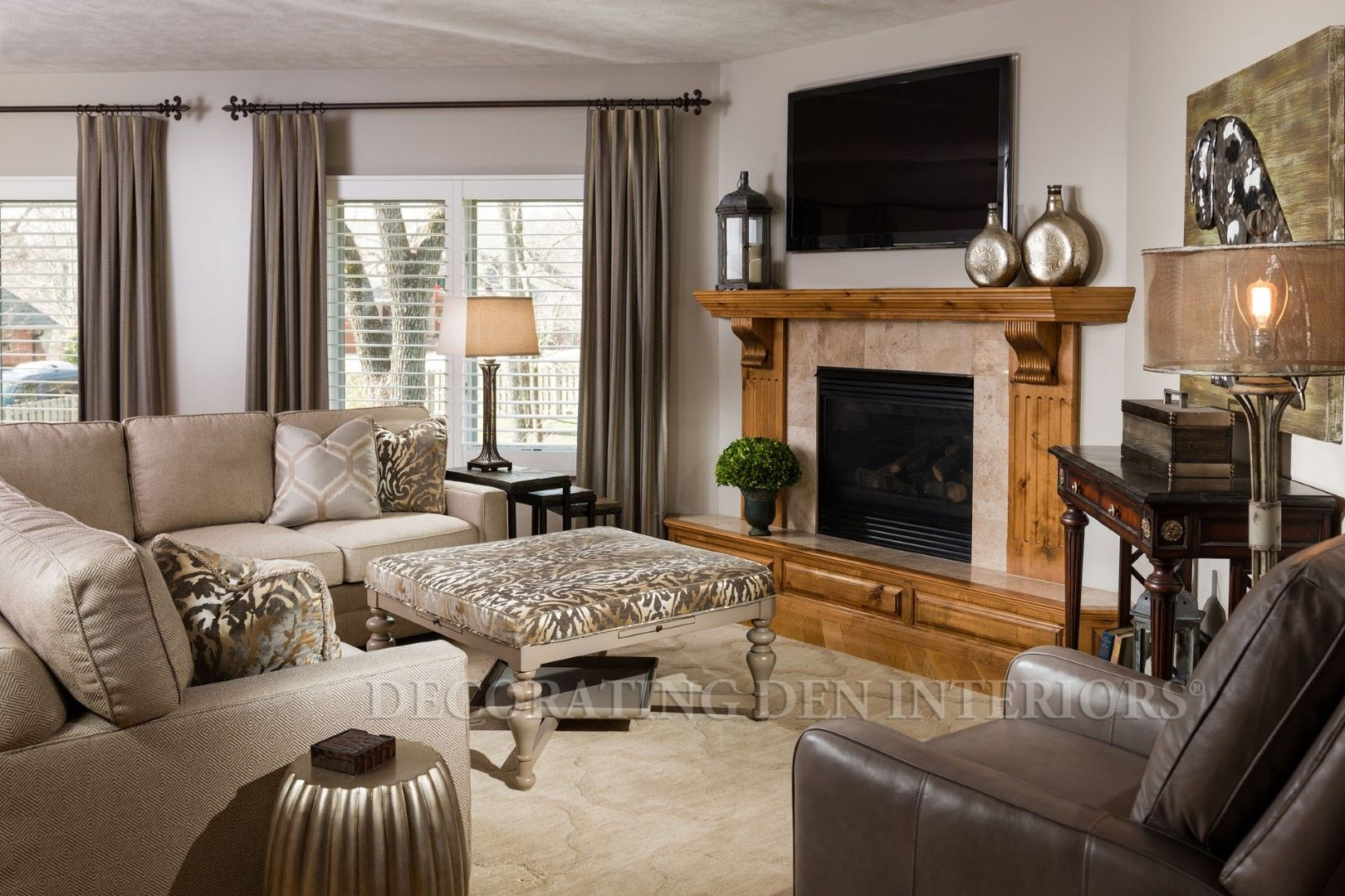 Family Room designs by Decorating Den Interiors. Want this ...