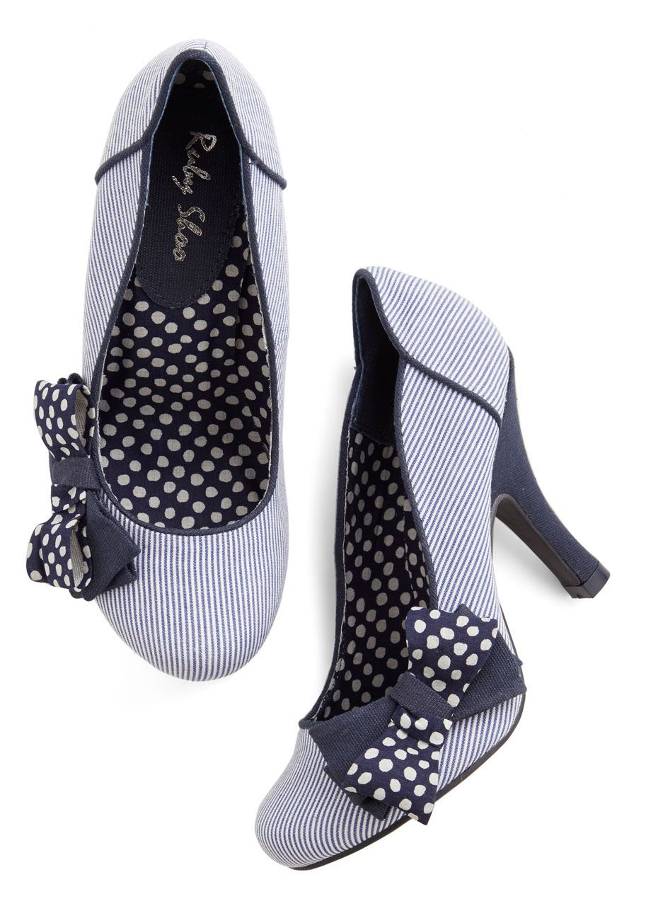 Upper Decked Out Heel, #ModCloth