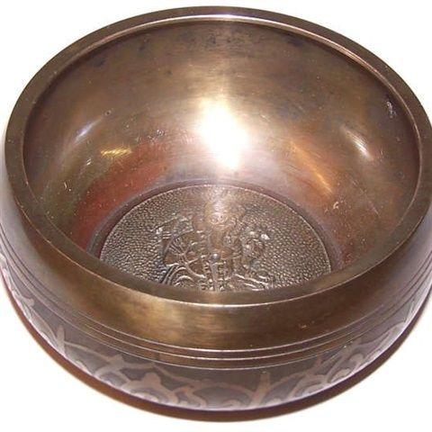 large ganesh singing bowl  appr 100mm price 3195 gbp