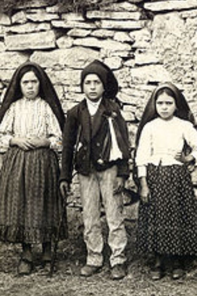 The Three Children Of Fatima Lucia Francisco Jacinta Lady Of