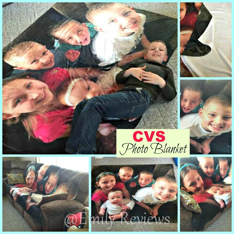 CVS Pharmacy Photo Blanket & Personalized Photo Card ~ Perfect Gift For Mom! #Discount Code