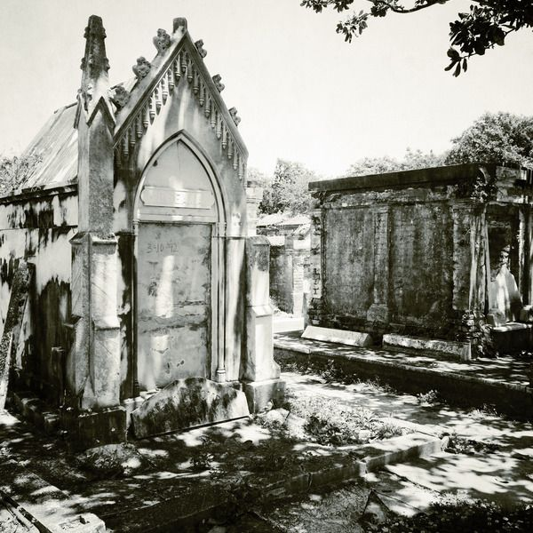 Check out this list: Crypts, Graveyards, and Hauntings—Oh My!