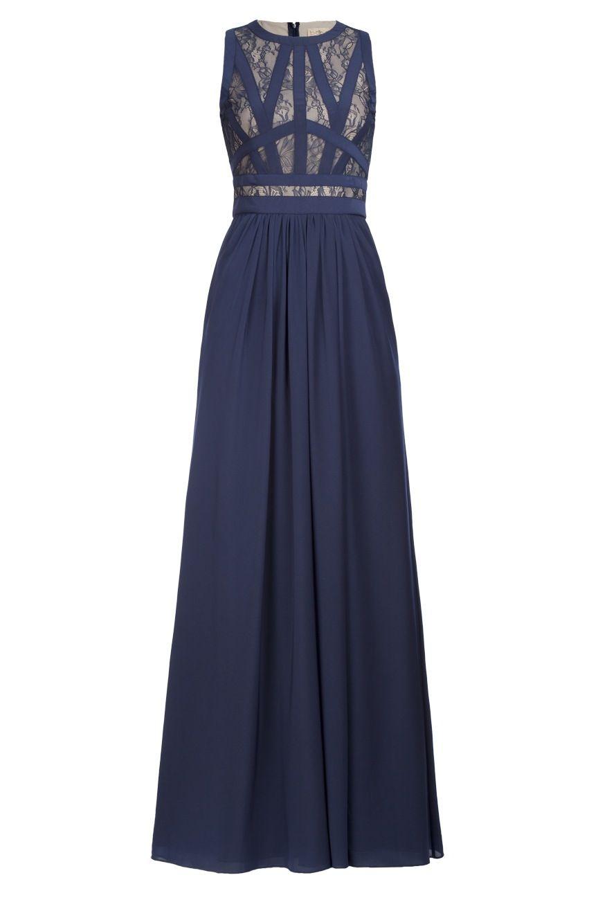 vestido azul marino con cola - Buscar con Google