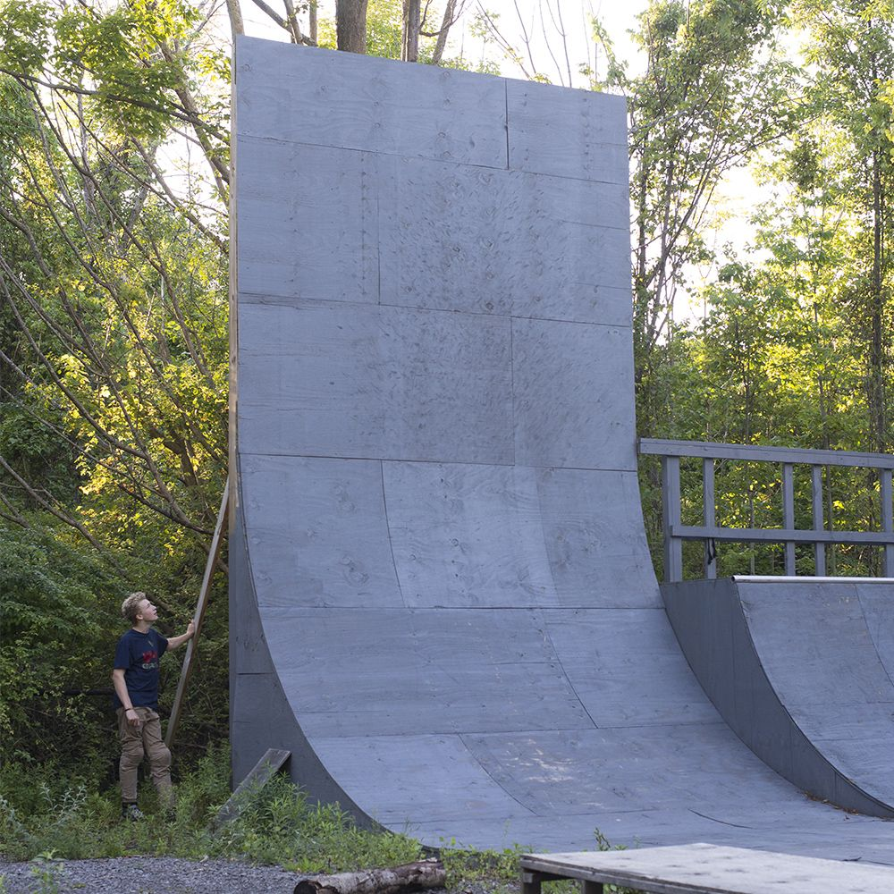 how u0027s this for a backyard bmx vert wall jayden is 13 watch him