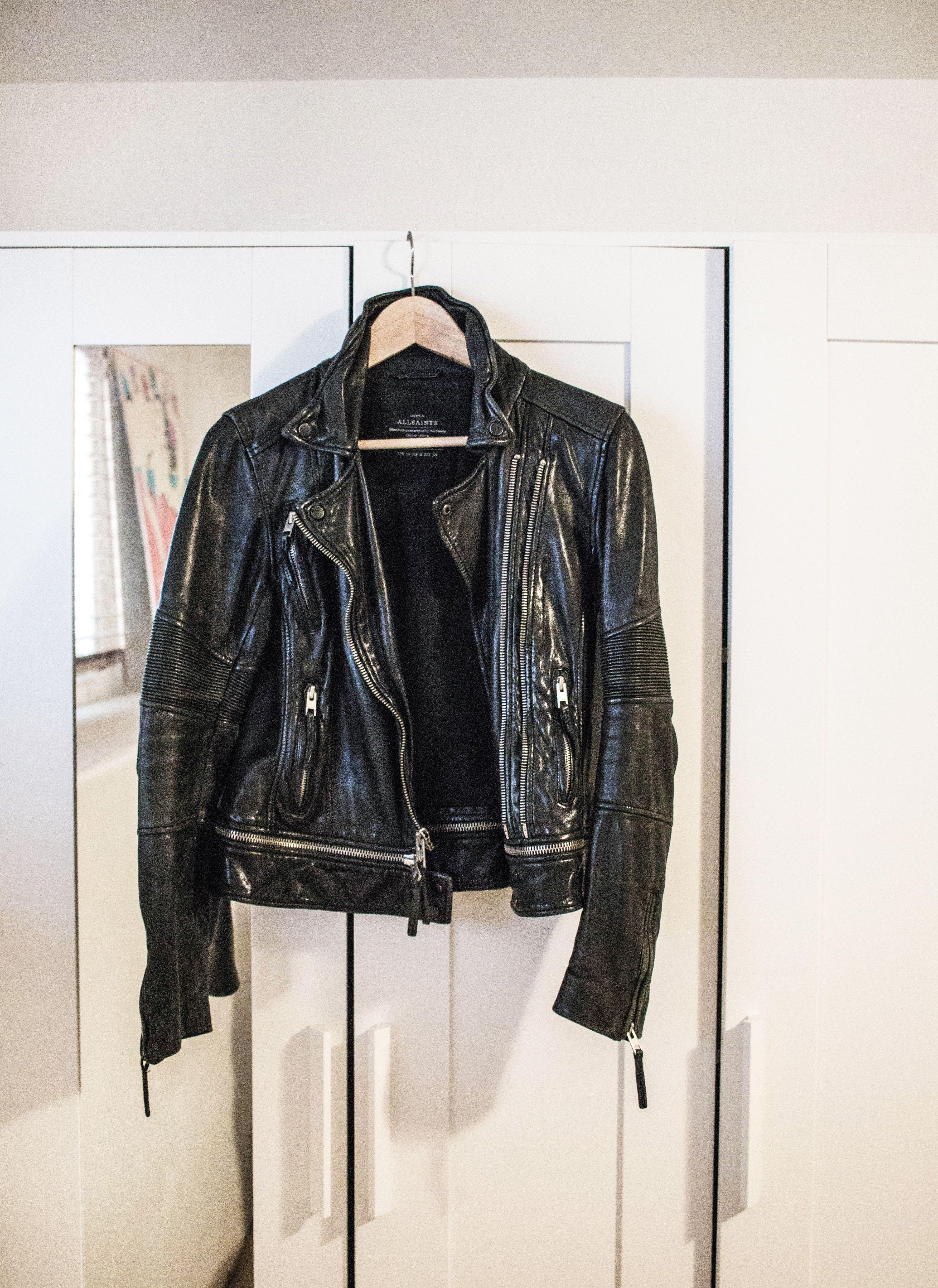 AllSaints Leather Jacket Womens fashion