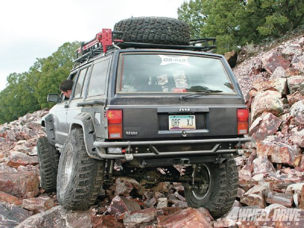 1996 Jeep Cherokee Xj Or Fab Rear Rock Slider Bumper Photo 36206918 Inste