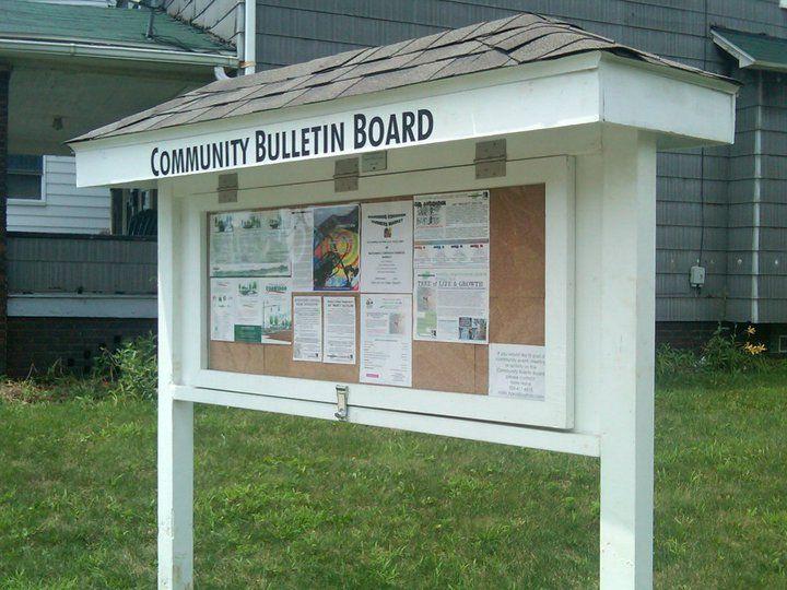 Community Bulletin Board 720x540