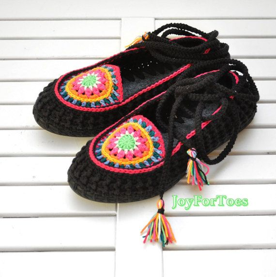 Colorful Ons Hippie Slippers Flats Boho Slip Mandala Outdoor CeBWdQrxo