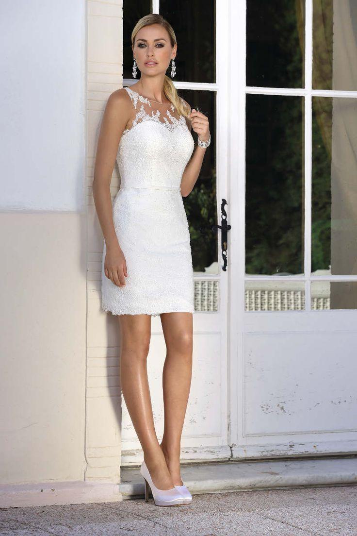 Die beliebten Ladybird Brautkleider gibt es auch in kurz ...