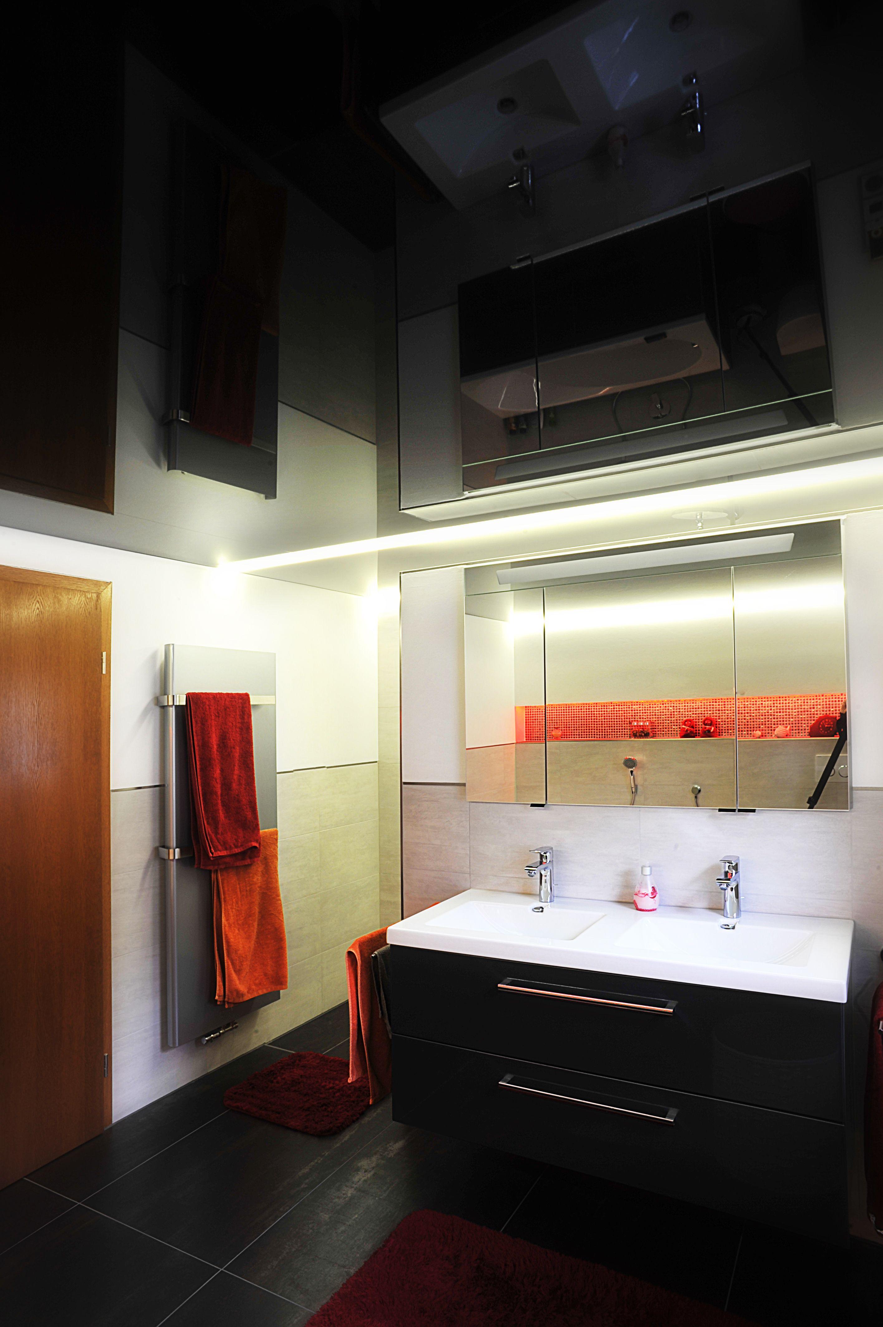 Spanndecke Im Badezimmer Spanndecken Badezimmer Bad