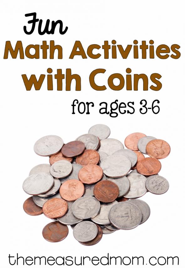 Worksheets Money Games For Preschool money math for preschool kindergarten and first grade grade