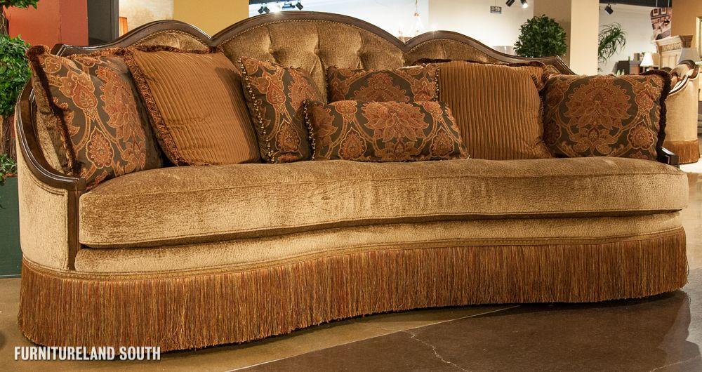 Rachlin Sofas | Rachlin Classics Button Tufted One Cushion Geena Sofa
