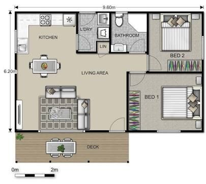 Small Scale Homes Floor Plans For Garage To Apartment Conversion Garage Floor Plans Bungalow Floor Plans Apartment Floor Plans