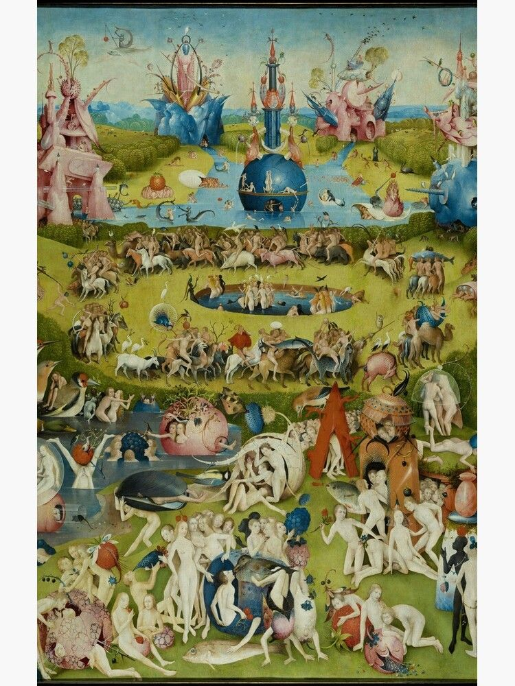 Earthly Delights By Hieronymus Bosch