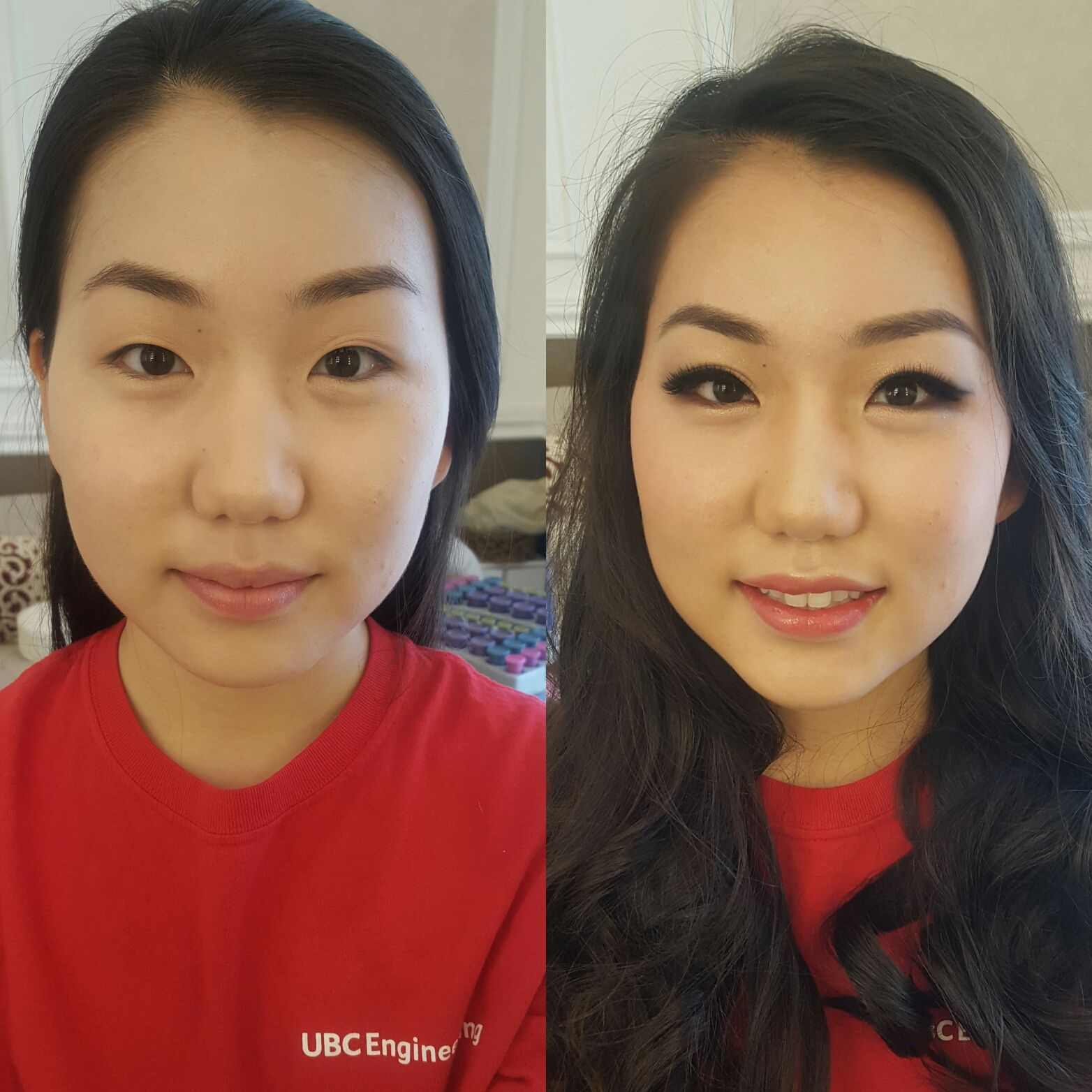 Korean style makeup and hair for bride by DS Veronica Cho