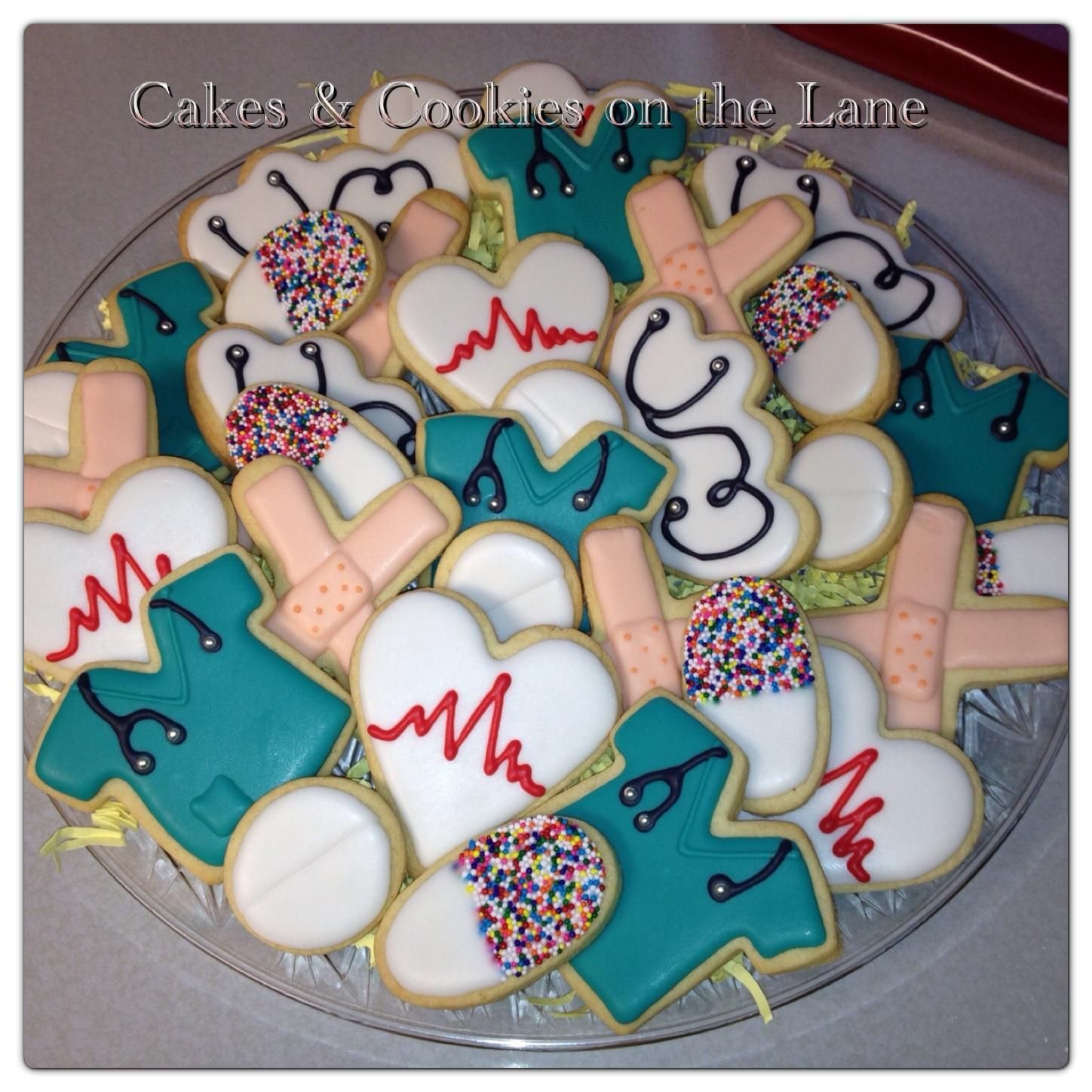 Company Pin Cookie Cutter On The