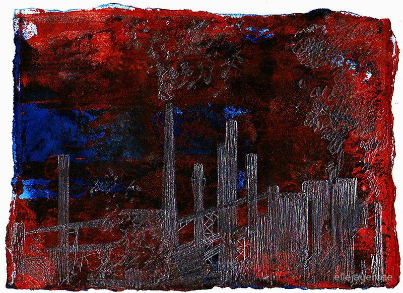 new lower prices best deals on cheaper Steel Town #1: Ellen Jaye Benson | Art, Steel, Landscape