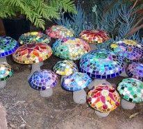 Mosaiksteine in der Gartengestaltung- Bastelideen und mehr ...