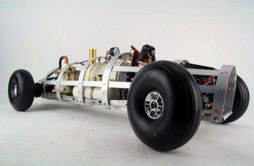 RC Live Steam Racing Car Silberpfeil