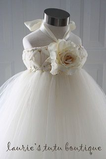 Happily Ever After Tutu Dress  Not sure which colors but flower girls' dresses :D