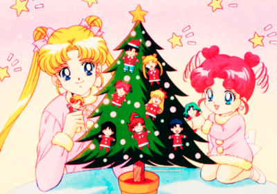 sailormoon christmas | Sailor chibi moon, Sailor moon manga, Sailor moon