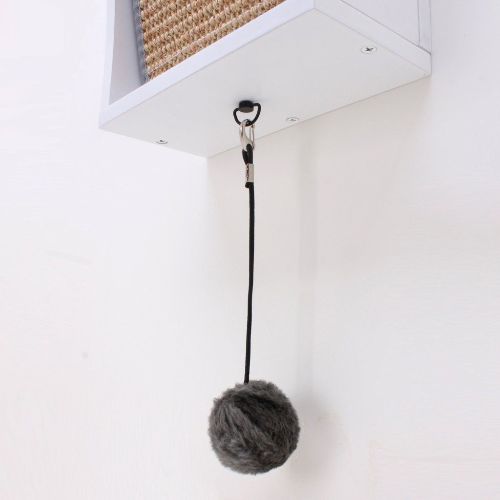 wall mounted cat furniture. Catchall Wall-mounted Cat Scratcher (espresso Or White) Wall Mounted Furniture