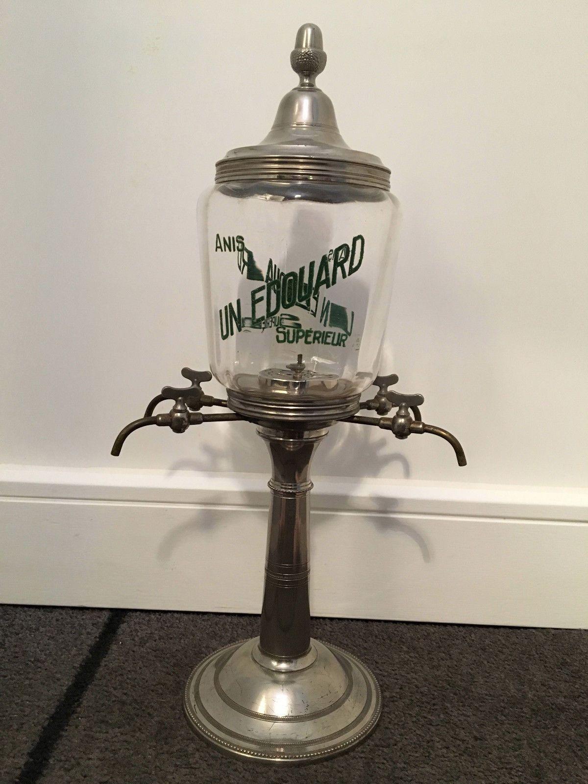 Rare Ancienne Fontaine Absinthe Anis Un Edouard A Voir Destockage Absinthe Ebay