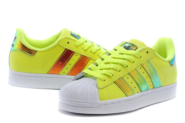ADIDAS SUPERSTAR 80S COLLECTION FLUORESCENCE D65617 $139