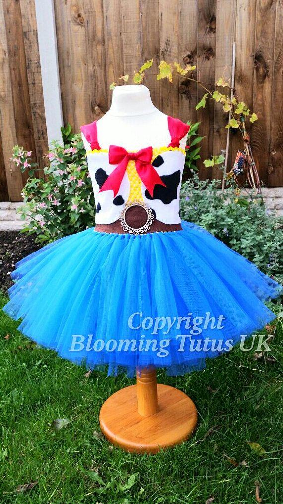 Disney Toy Story Woody Jessie inspirado Tutu por BloomingTutusUK Disfraz De  Woody a4c2992fbfc