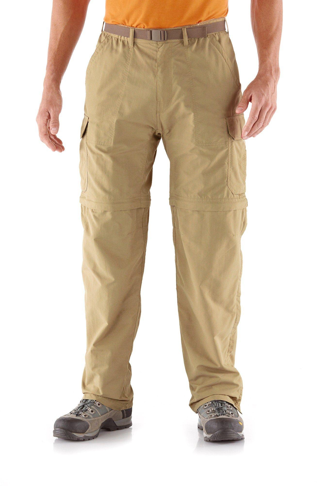 6c9f7b35771358 REI Sahara Convertible Pants with No-Sit Zips - Men s 30