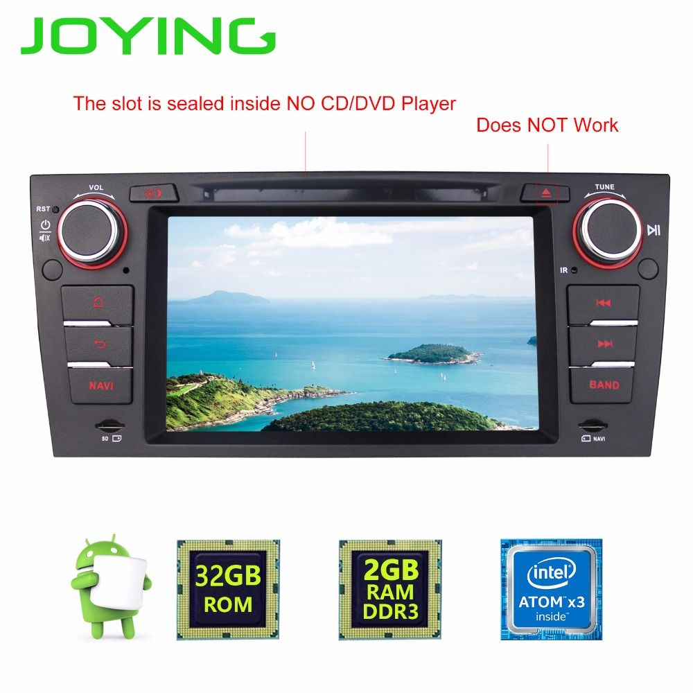 Joying Android 6 0 Head Unit Fit BMW E90-E93 1Din Car Radio GPS TV